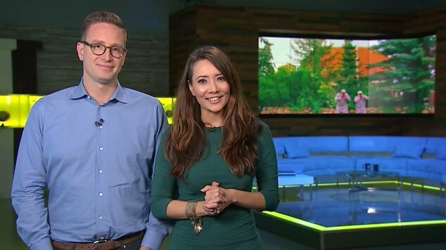 Discovery Channel går bag kameraet på Stunt Comedy Show