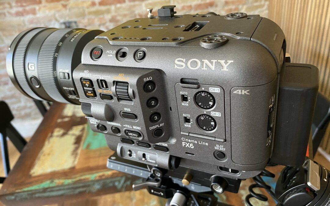 Sony FX6 og andet nyt udstyr